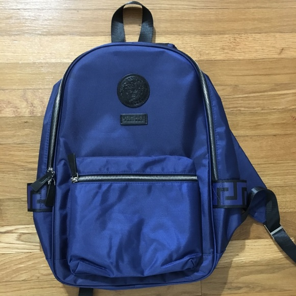 4313c0b87e Brand New Versace Men's Navy Backpack